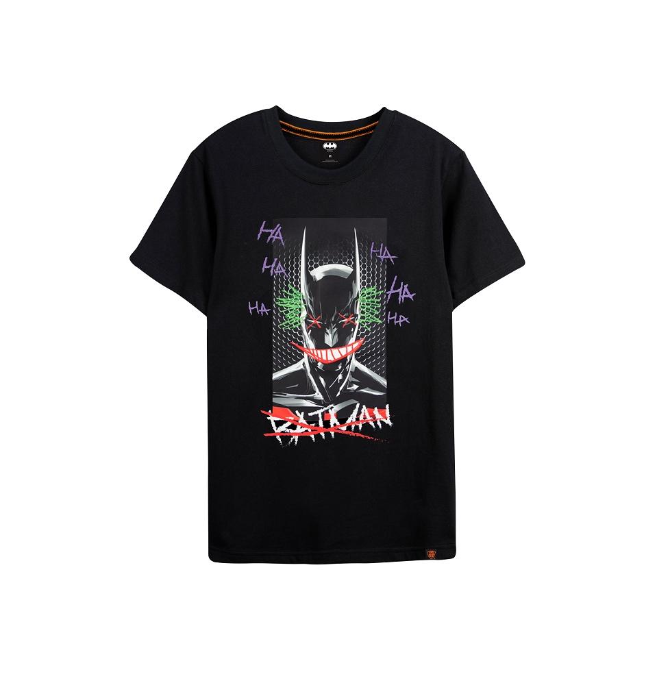 蝙蝠俠系列  蝙蝠俠塗鴉款  短袖T恤
