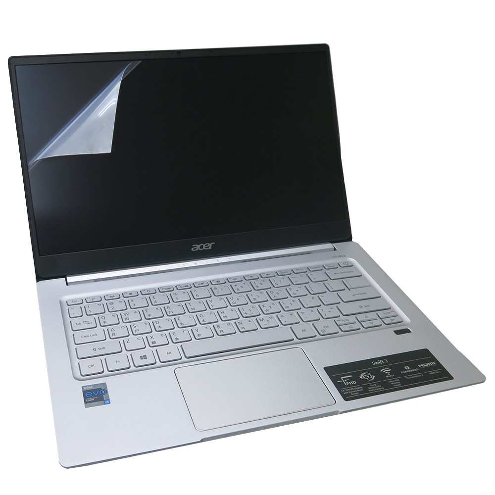 【Ezstick】ACER Swift 3 SF314-59 靜電式筆電LCD液晶螢幕貼 (可選鏡面或霧面)