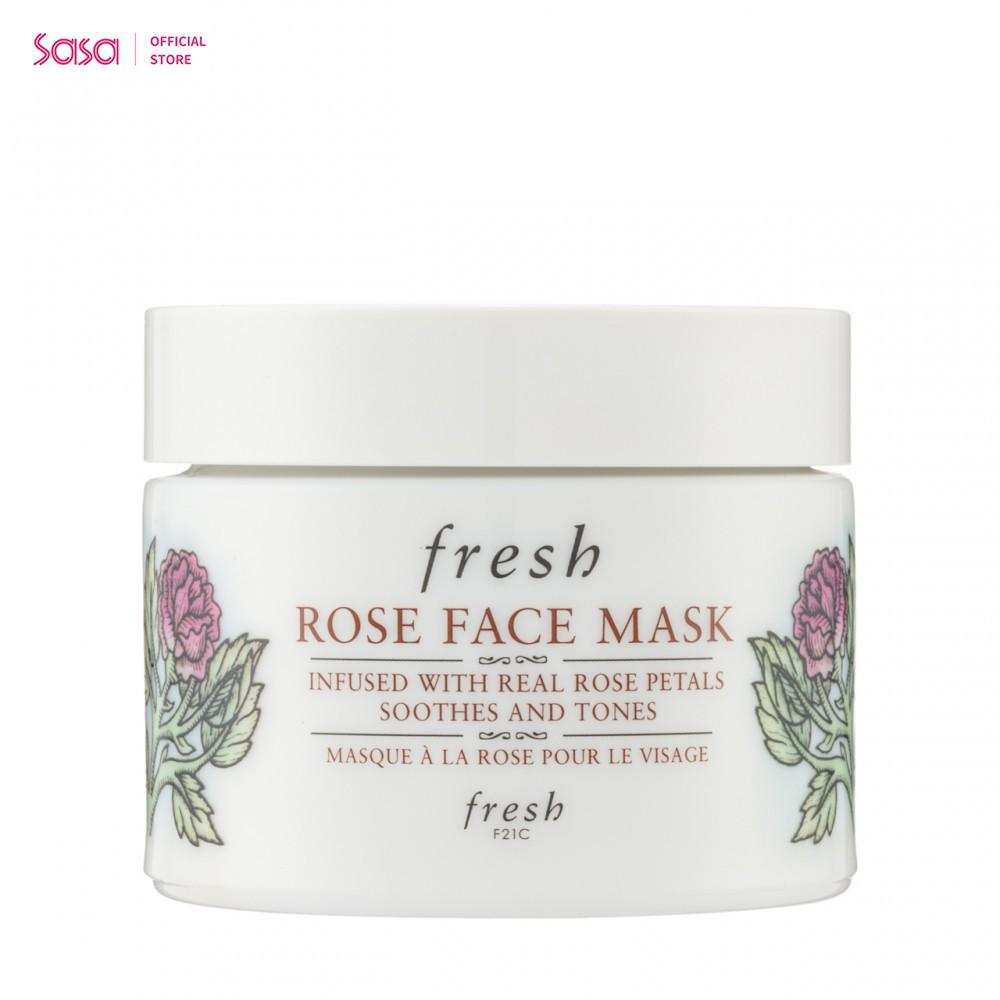 FRESH fresh限量版玫瑰保濕面膜(100毫升)