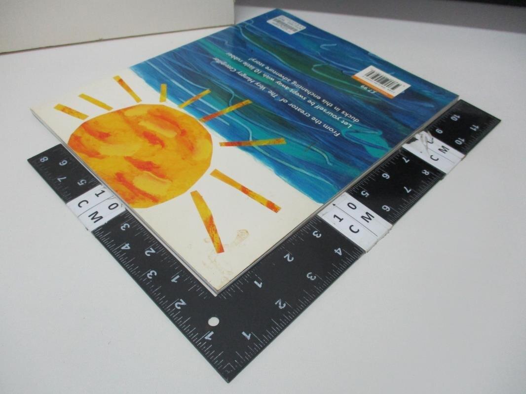 【書寶二手書T1/少年童書_I8M】10 Little Rubber Ducks (Book & CD)_Eric Carle