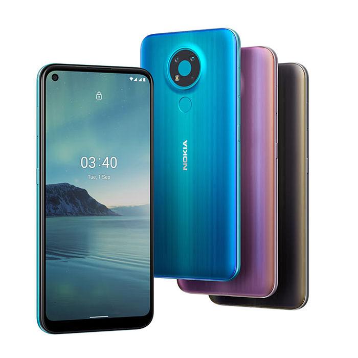 Nokia 3.4 3GB/64GB 6.39吋 雙卡雙待 智慧機 (贈鋼保+立架)驚冰藍