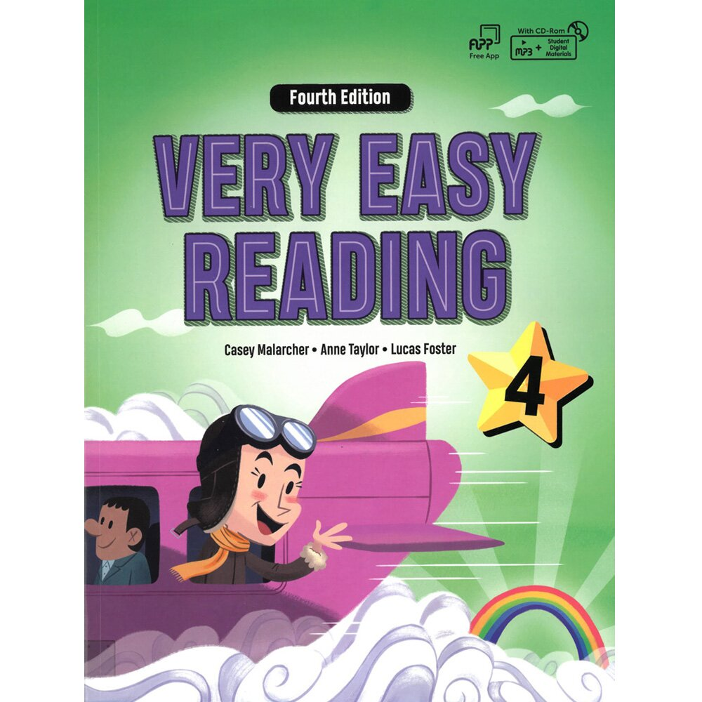 Very Easy Reading 4 4/e (with MP3)