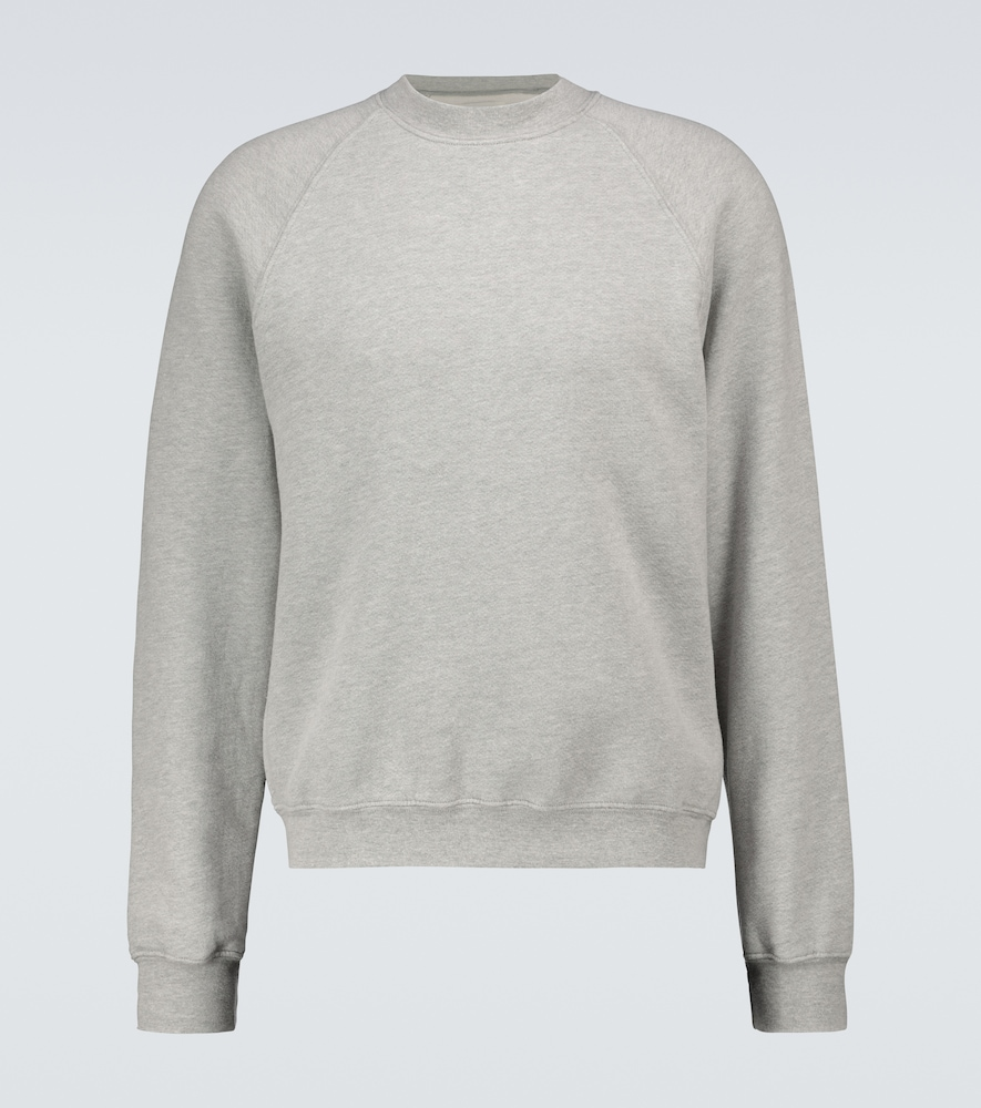 Classic cotton raglan sweatshirt