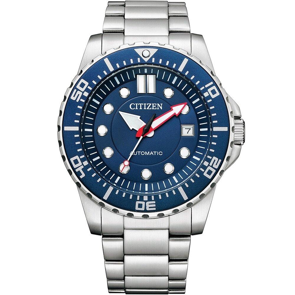 CITIZEN 星辰 水鬼潛水型運動錶(NJ0121-89L)43mm/藍