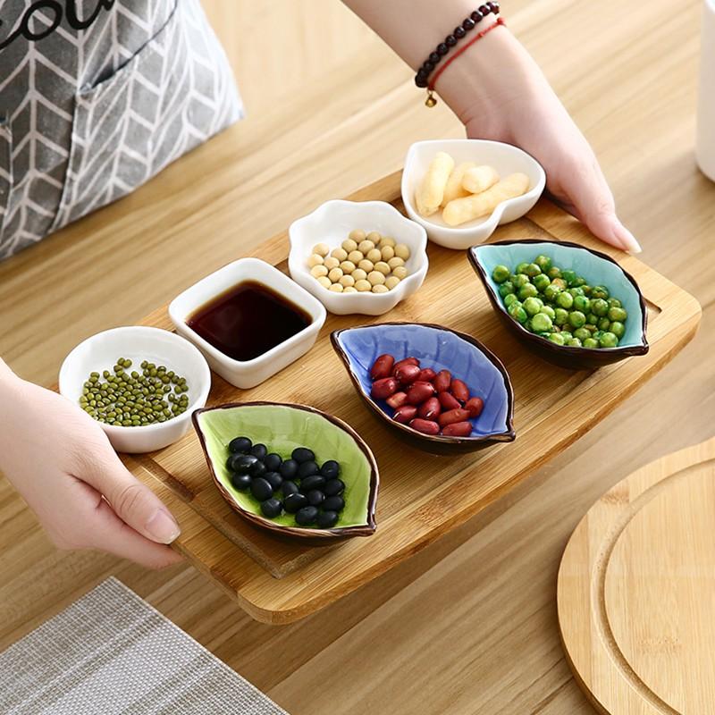 陶瓷小碟子 廚房調味碟冰裂釉骨碟醋碟醬油碟創意小吃菜碟