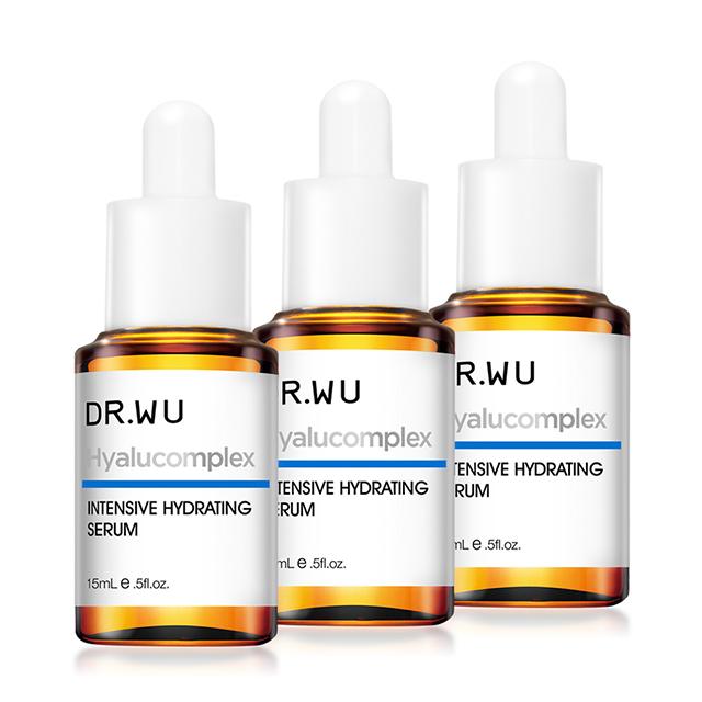 DR.WU 玻尿酸保濕精華液15ML(3入組)