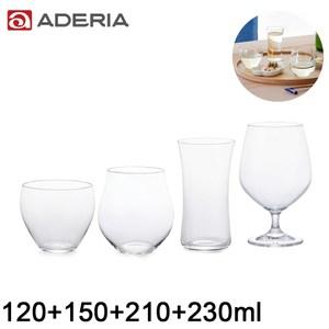 【ADERIA】日本進口工藝清酒杯系列四件組