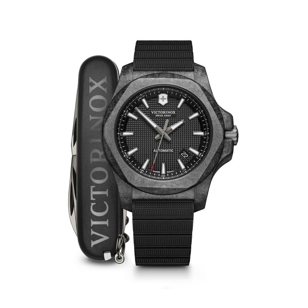 VICTORINOX SWISS ARMY 瑞士維氏 I.N.O.X.碳纖限量版機械套錶 VISA-241866.1