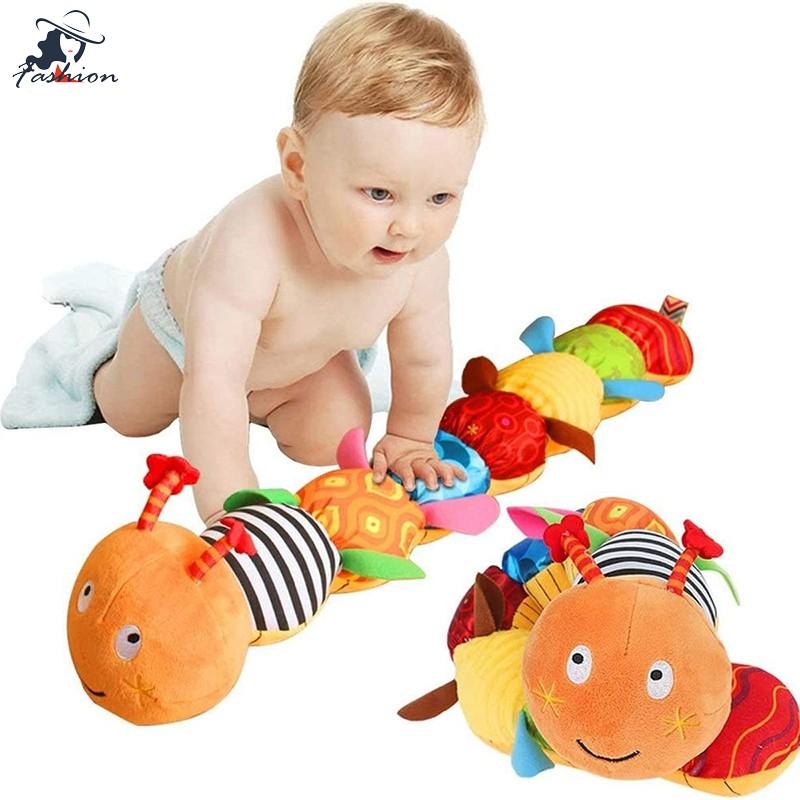 音樂毛毛蟲玩具撥浪鼓與尺子設計益智玩具學前嬰兒
