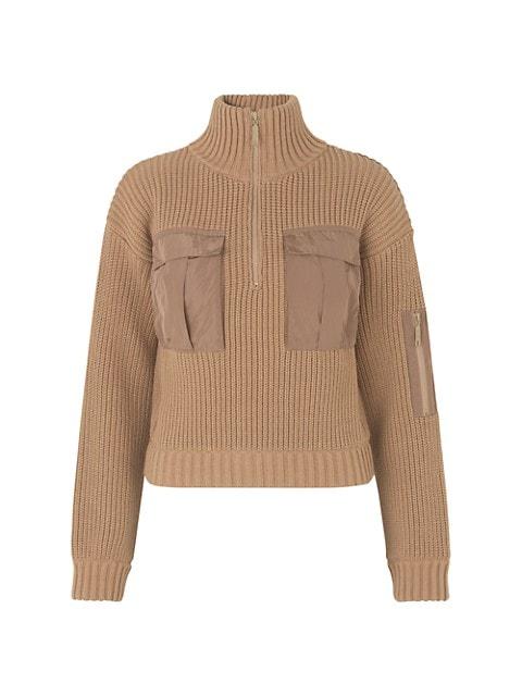 Clyde Half-Zip Cargo Sweater