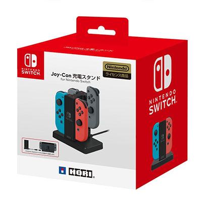 【NS周邊】Nintendo Switch 雙手把充電座《HORI (NSW-003)》