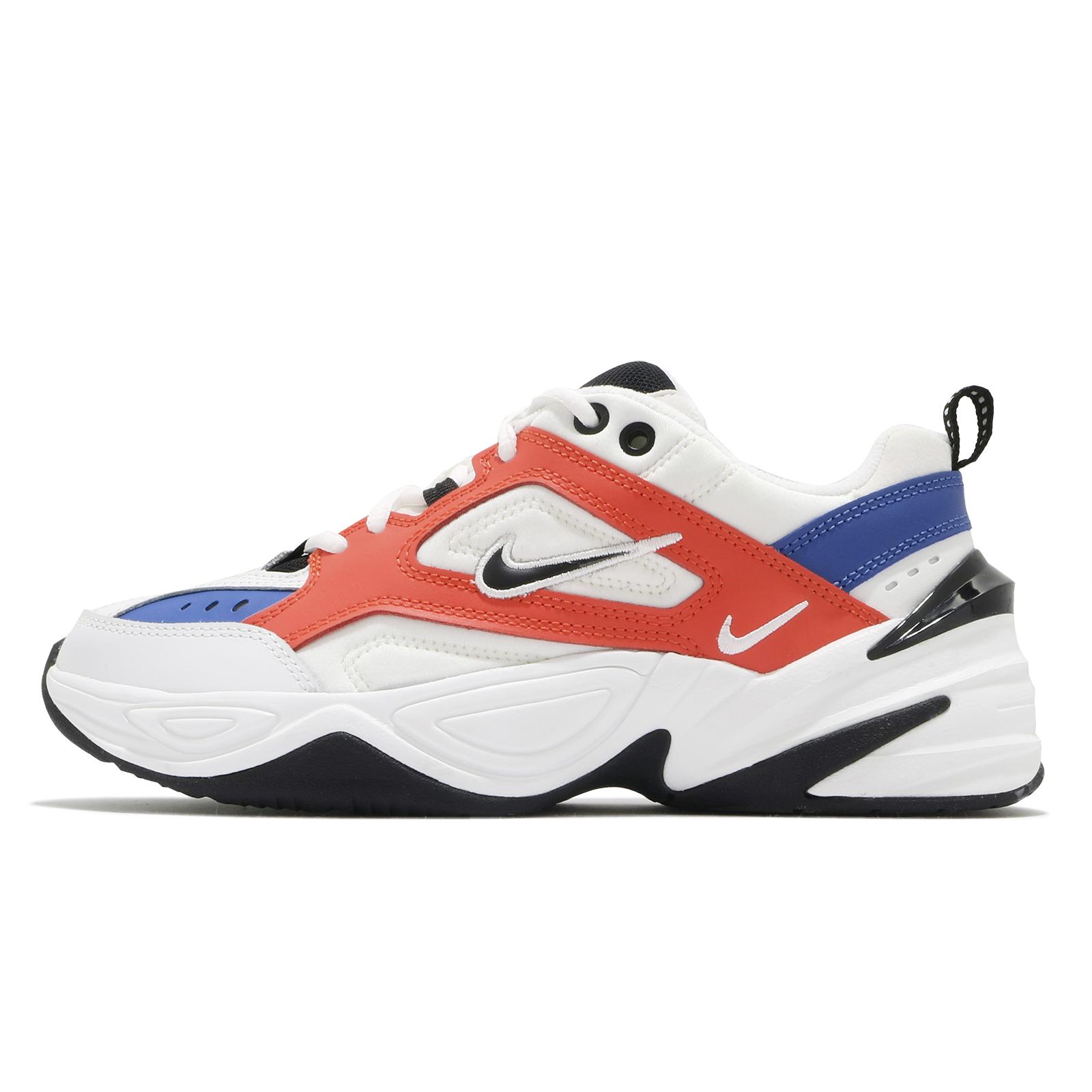 Nike 休閒鞋 Wmns M2K Tekno 白 橘 女鞋 復古慢跑鞋 老爹鞋 運動鞋【ACS】 AO3108-101