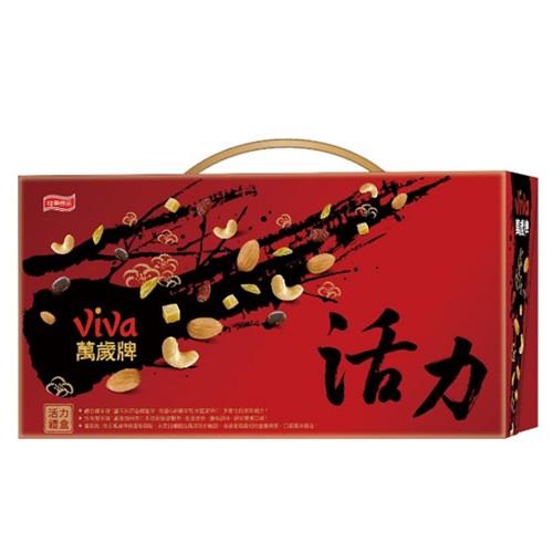J-萬歲牌活力堅果禮盒830G【愛買】