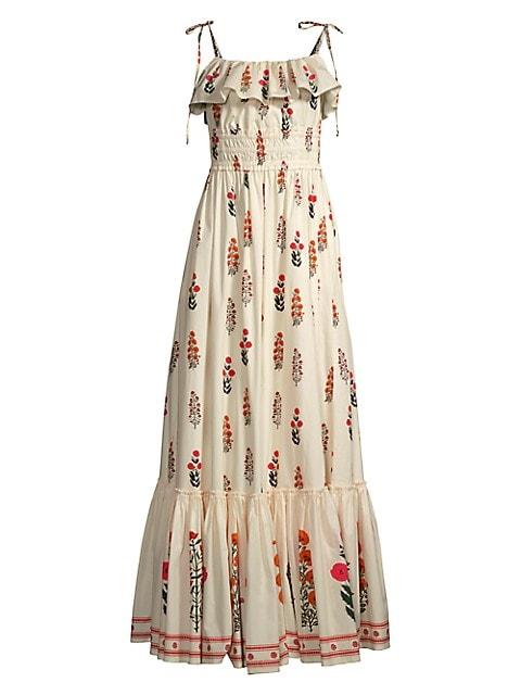 The Wallflowers Coco Dahlia Tie-Strap Dress