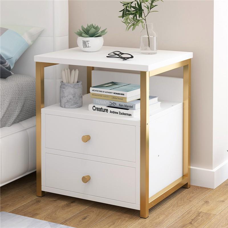 新品/床頭柜簡約現代迷你小型現代輕奢置物架小柜子儲物柜床頭收納柜