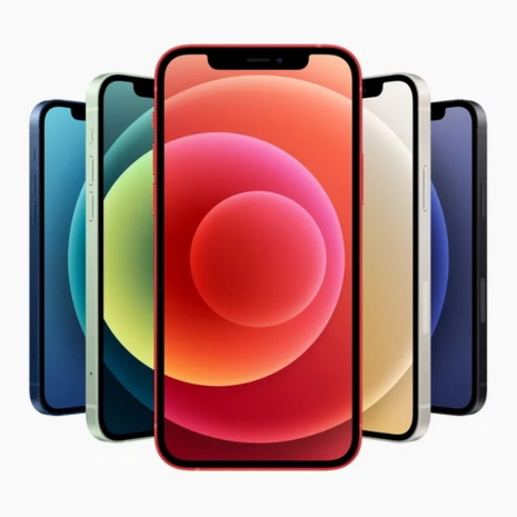 Apple iPhone 12 mini 64G 5.4吋 5G 智慧手機 加贈玻璃保護貼+手機支架藍色