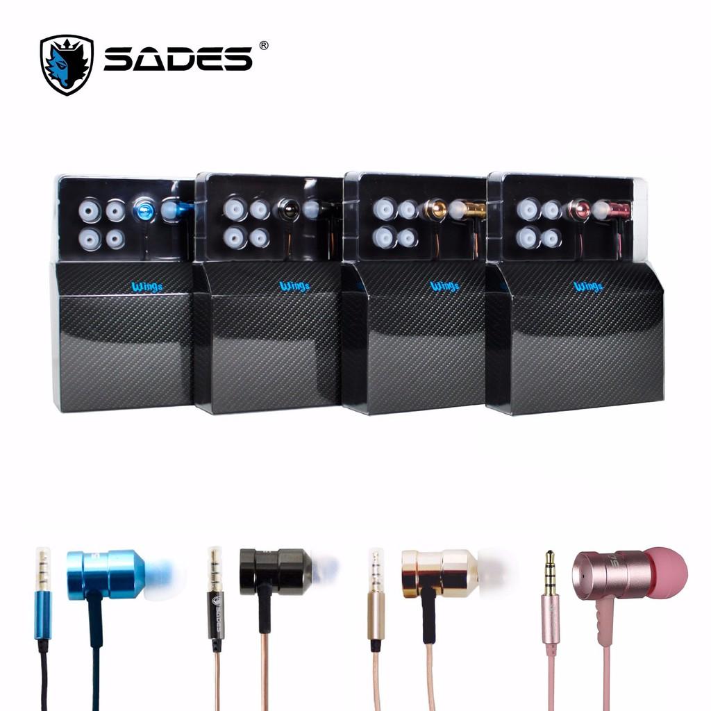 【台南華駿】賽德斯 狼翼 入耳式鋁合金電競耳機 SADES WINGS