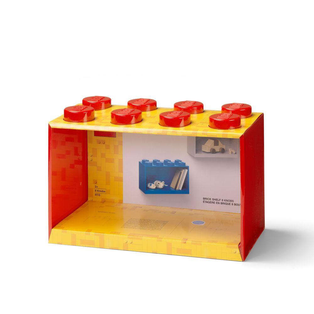 LEGO 41151730 經典系列 收納架 (8 KNOBS)-紅色【必買站】 樂高周邊商品