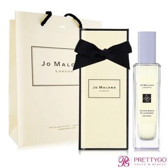 [現貨]Jo Malone 白樺樹與薰衣草香水 Silver Birch & Lavender Cologn(30ml)[附禮盒緞帶提袋]-英倫限定-公司貨