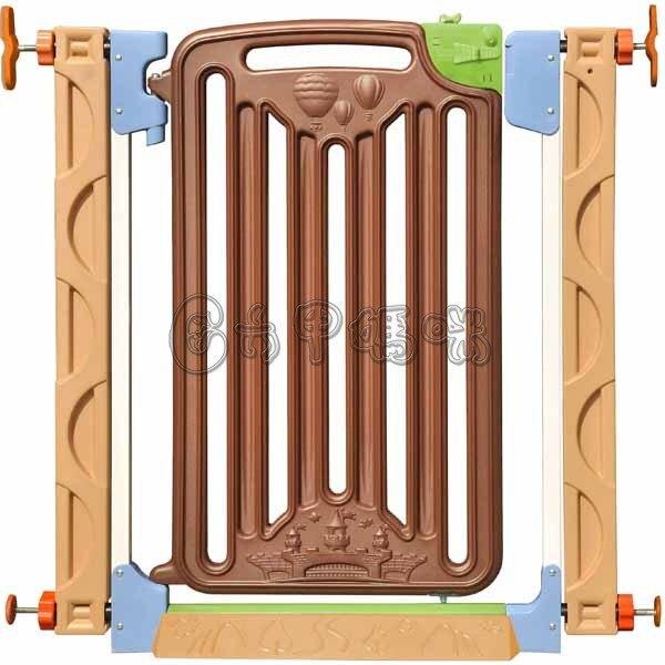 親親 城堡門欄PY09 安全門欄-兩段門鎖自動歸位