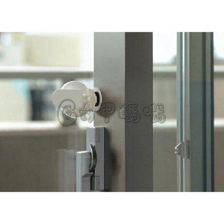 Richell利其爾推窗鎖扣 兒童窗戶安全鎖寶寶移門移窗防護安全鎖