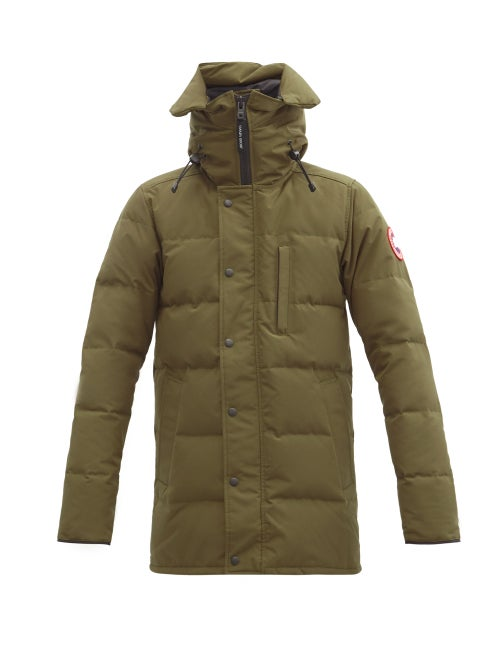 Canada Goose - Carson Hooded Down Parka - Mens - Green