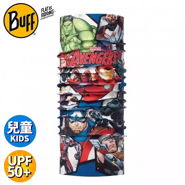 【BUFF 西班牙 青少年超級英雄 經典頭巾 Plus《英雄聯盟》】118282/圍脖/帽子/口罩/圍巾/快乾透氣