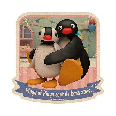 《企鵝家族》防水貼紙-PINGU和PINGA