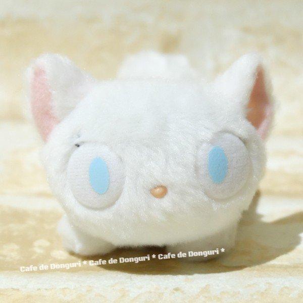 短絨 沙包 手玉娃 白貓 LILI 莉莉 魔女宅急便 宮崎駿 吉卜力 娃娃 布偶 玩偶 收藏 擺飾 4974475594233 真愛日本