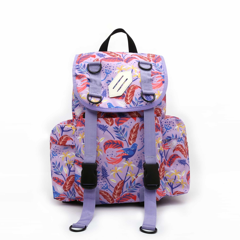 【限時九折】RITE 時尚潮流 U02海軍包 花鳥粉紫
