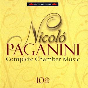 帕格尼尼 - 室內樂作品大全集 10CD