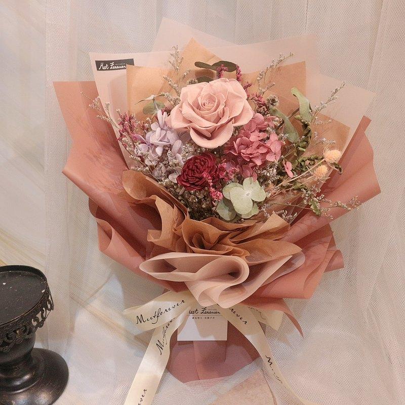 【遇見恆久】現貨區 永生玫瑰花束 中型花束系列