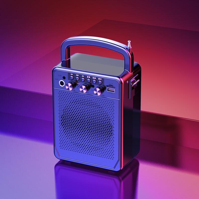 免運 現貨 清理 成本價拋售 僅有一件 藍牙音響 音響 小音响家用户外广场舞手提便携式小型影响