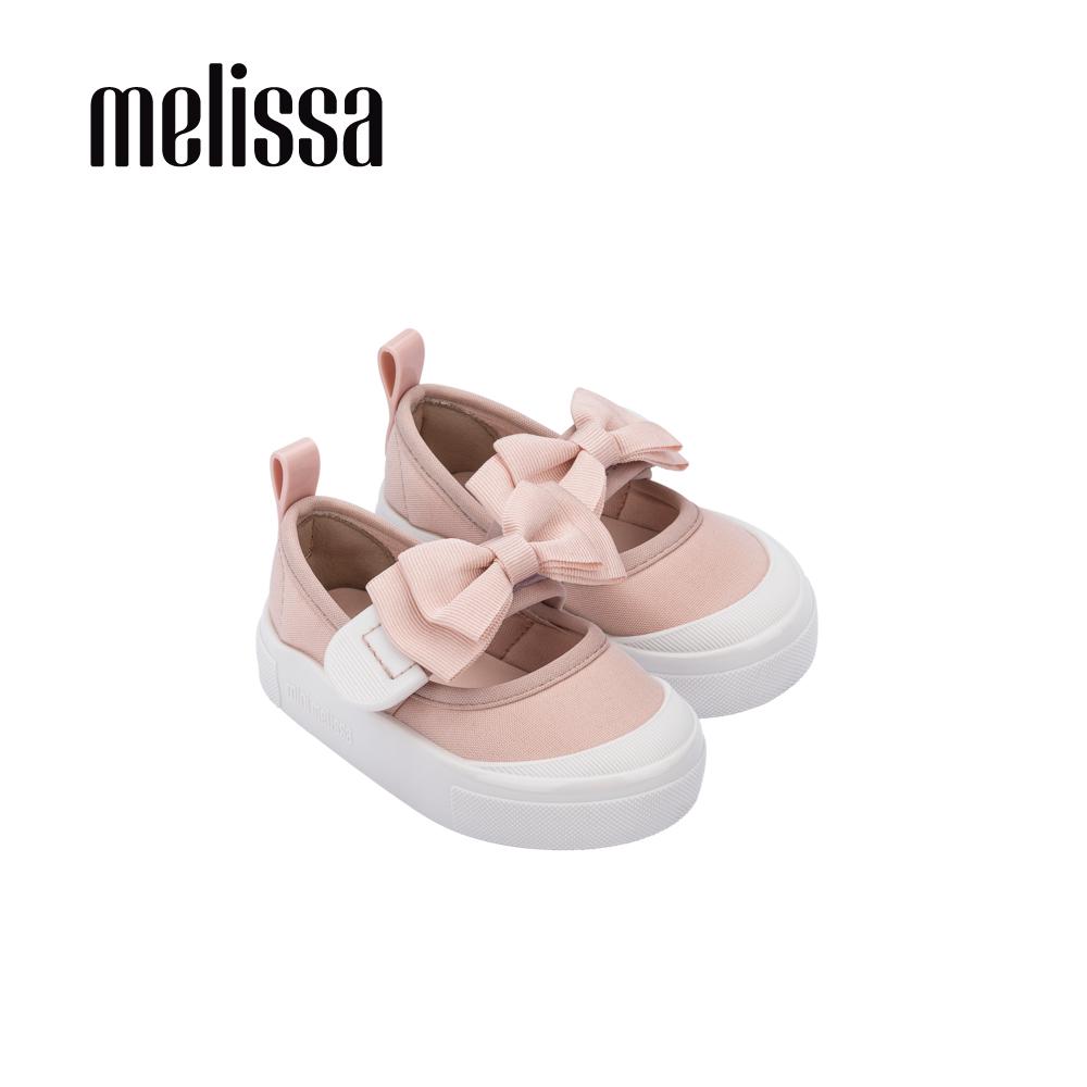 【Baby】 Melissa Basic經典蝴蝶結撞色娃娃鞋-寶寶款 粉-(MB50-32931 C0)