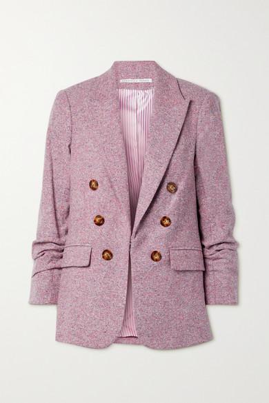 Veronica Beard - Beacon Dickey 花呢西装外套 - 丁香紫 - US2