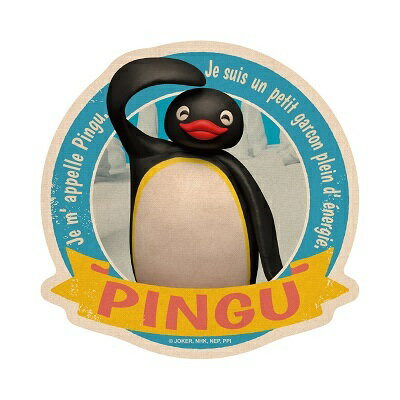 《企鵝家族》防水貼紙-PINGU