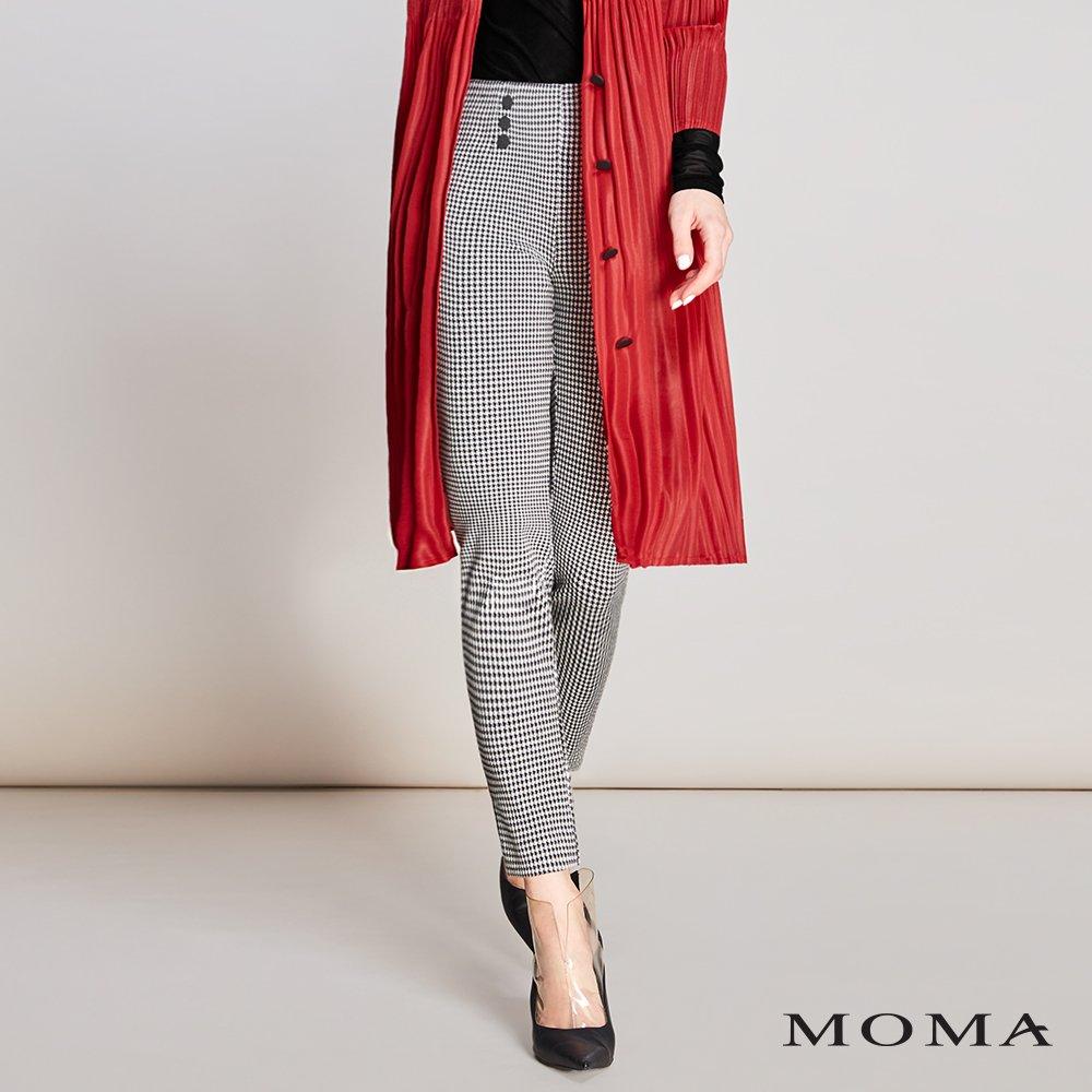 MOMA(01P038)千鳥紋合身褲