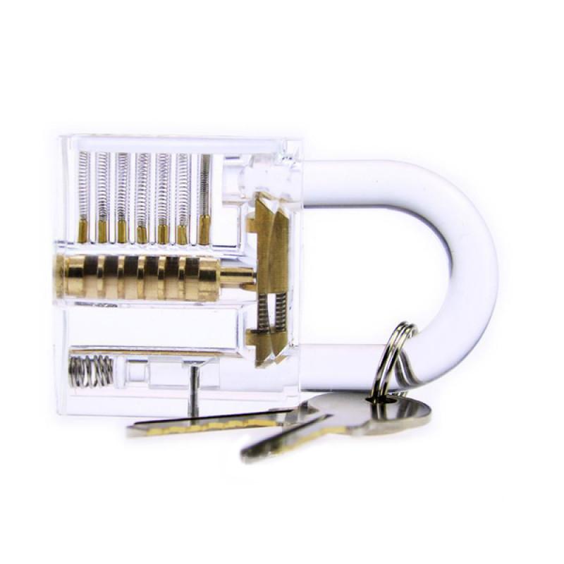 鎖匠的挑戰-DIY益智透明掛鎖 |賽先生科學工廠