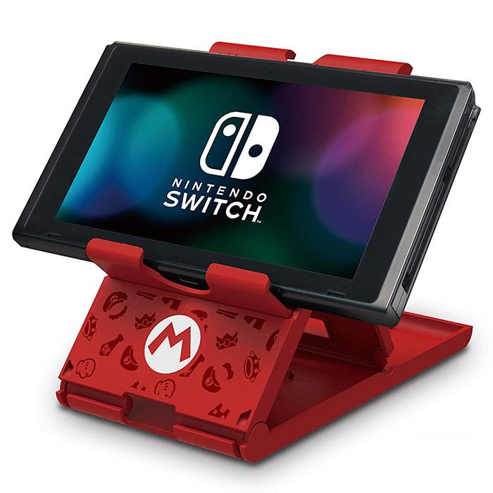 【NS周邊】Nintendo Switch 平板直立架(瑪莉歐款)《HORI (NSW-084)》