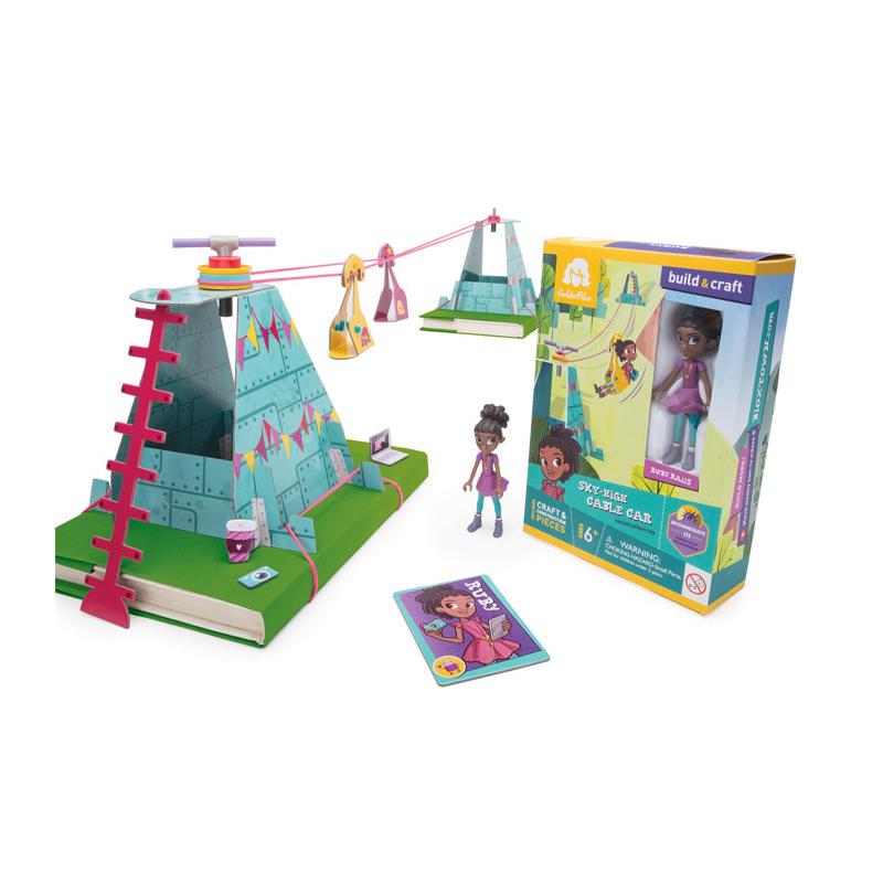 美國玩具展金獎 GoldieBlox-盧比高空纜車