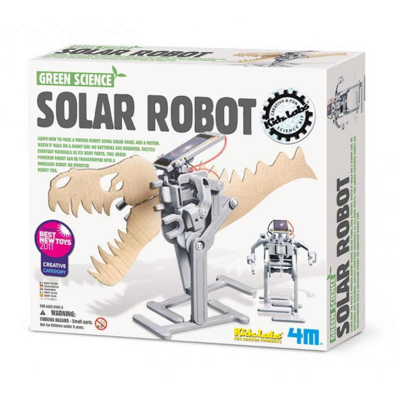 4M科學探索-太陽能機器人 Solar Robot