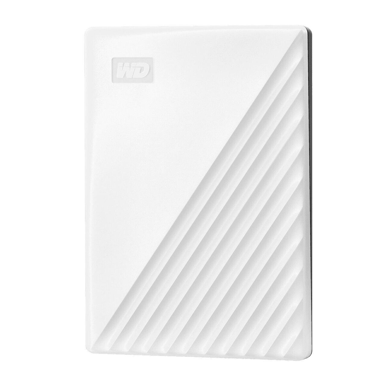 【WD 威騰】My Passport 2TB 2.5吋行動硬碟-白【三井3C】