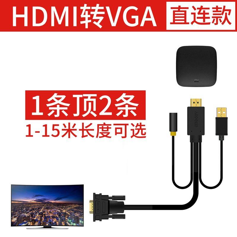唯格 hdmi轉vga轉換器機頂盒電腦顯