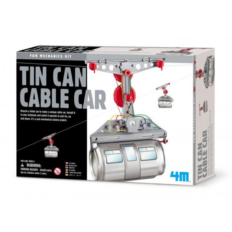 4M科學探索-環保纜車 Tin Can Cable Car