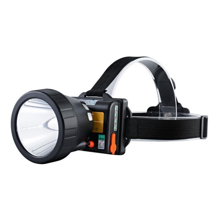 限時85折!限時搶購鷹眼王led釣魚頭燈強光充電超亮疝氣燈打獵防潑水礦燈頭戴式手電筒