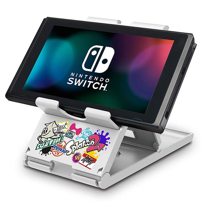 【NS周邊】Nintendo Switch 平板直立架(漆彈大作戰款)《HORI (NSW-125)》