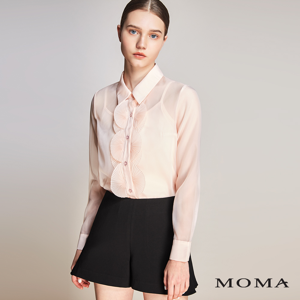 MOMA(01P041)Aline側開叉短褲