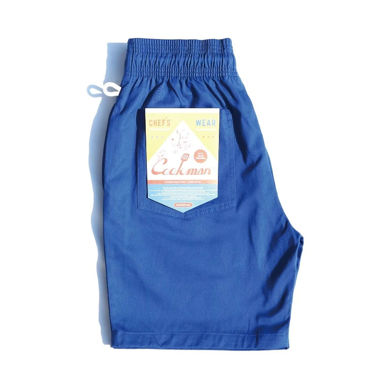 Cookman USA - 231-01820 Chef Short Pants 廚師短褲 / 休閒短褲 (寶藍)
