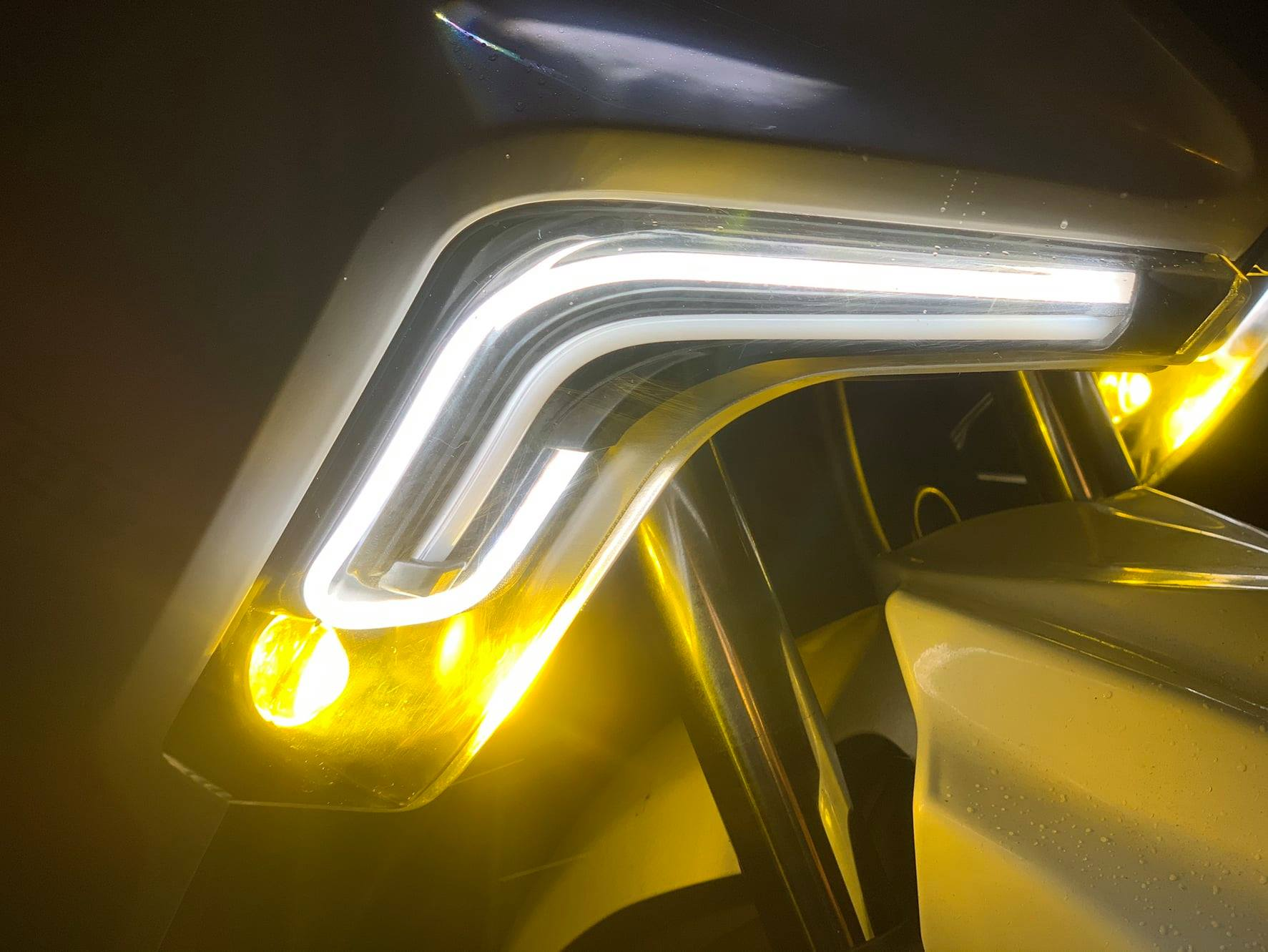 【LFM】CTH DRG D1機械龍 整合方向燈組 含遠近霧燈 DRG158 導光 前方向燈組 日行燈