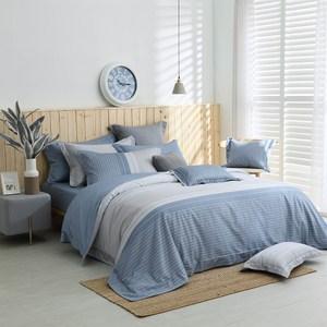 MONTAGUT-夏日主義-300織紗長絨棉薄被套床包組(雙人)